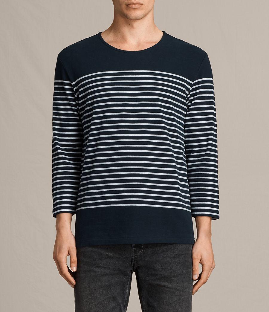 Hombre Camiseta Nimlana 3/4 (ink_navy_grey_marl) - Image 1