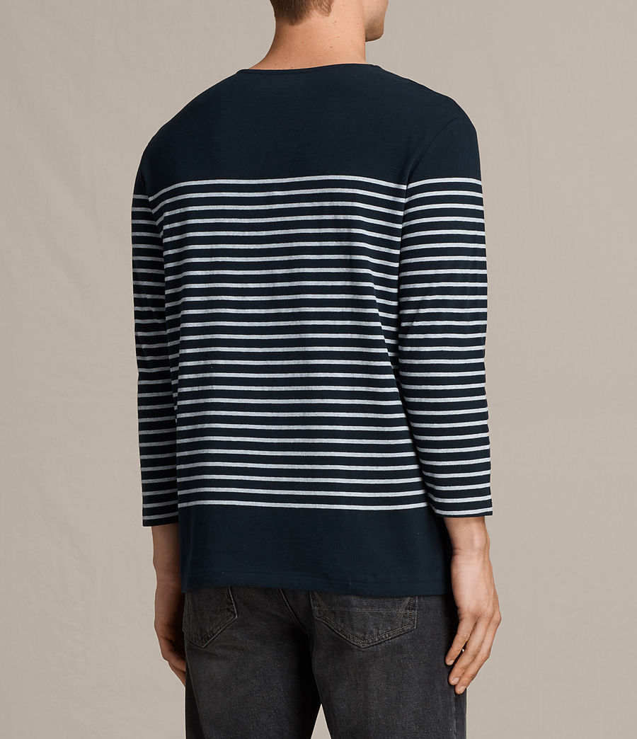 Hombre Camiseta Nimlana 3/4 (ink_navy_grey_marl) - Image 3