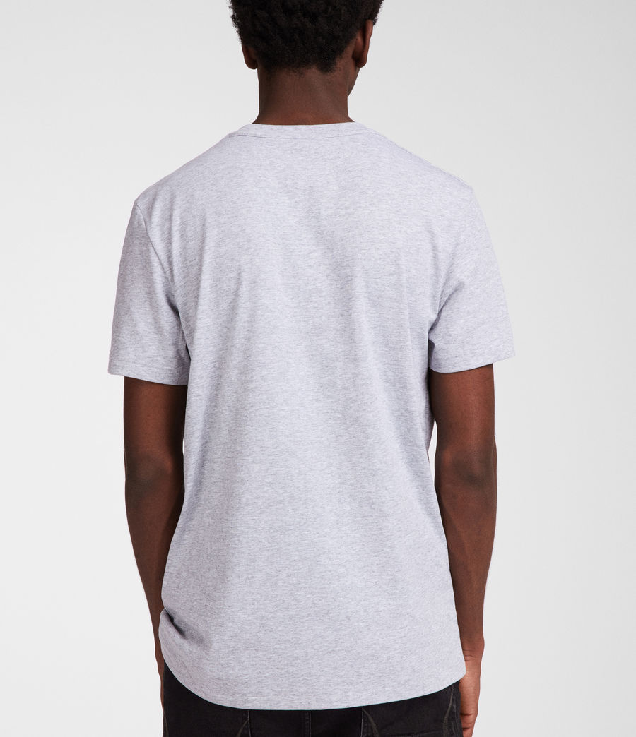 Mens Cure Tonic Crew T-Shirt (grey_marl) - Image 4