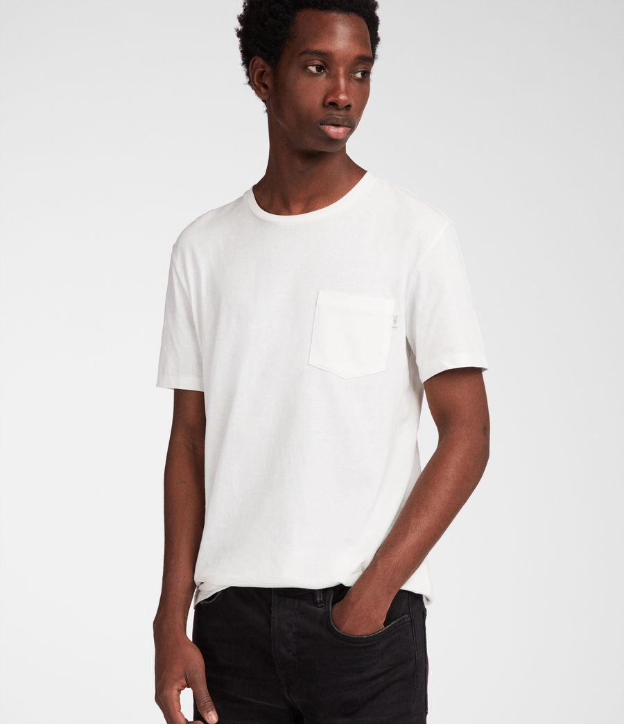Men's Cure Tonic Crew T-Shirt (chalk_white) - Image 3