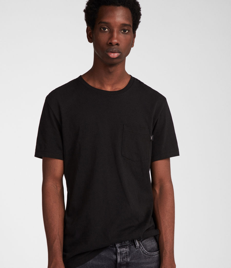 Men's Cure Tonic Crew (jet_black) - Image 1