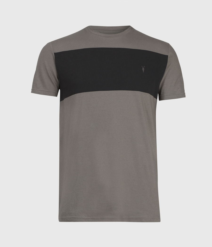Mens Kylo Crew T-Shirt (putty_grey) - Image 2