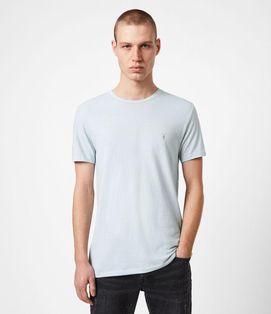 Mens Tonic Crew T-Shirt (pacific_blue_marl) - Image 1