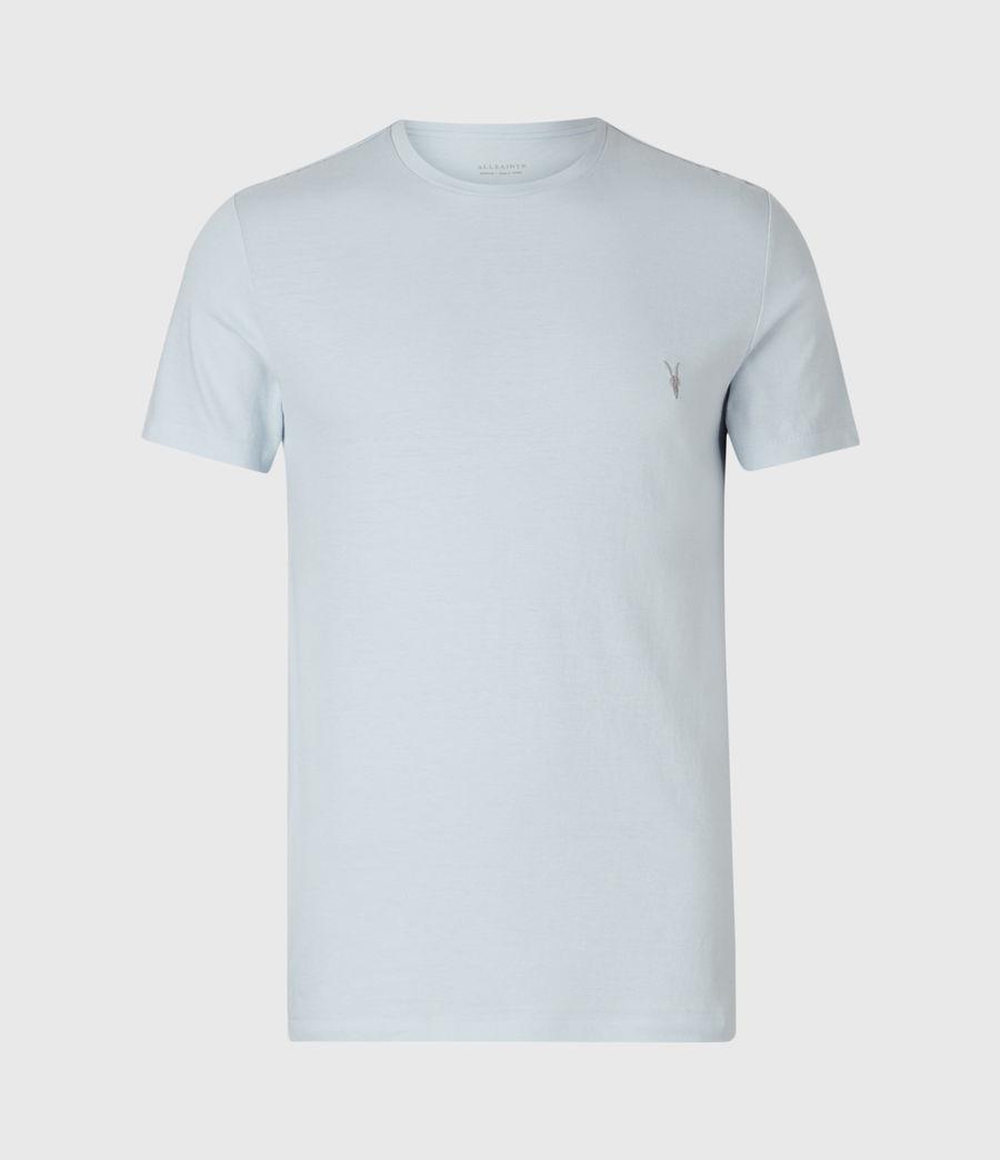 Mens Tonic Crew T-Shirt (pacific_blue_marl) - Image 2