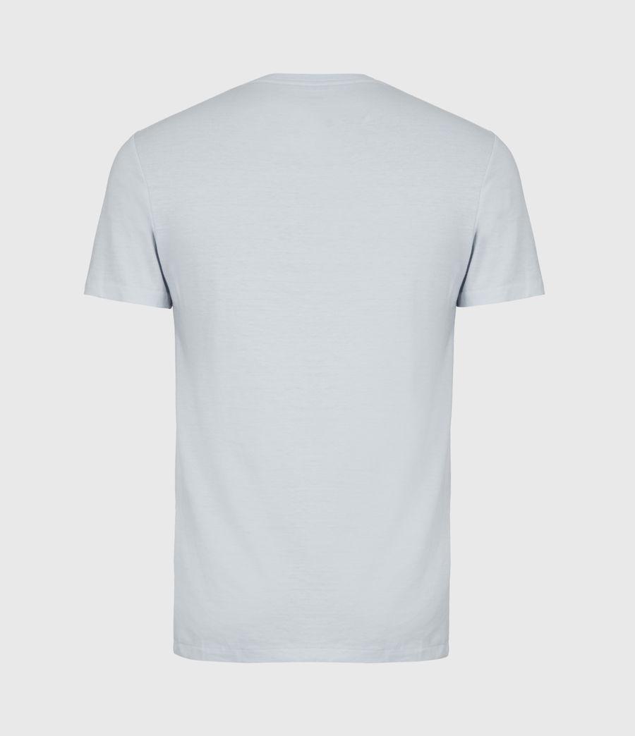 Mens Tonic Crew T-Shirt (pacific_blue_marl) - Image 3