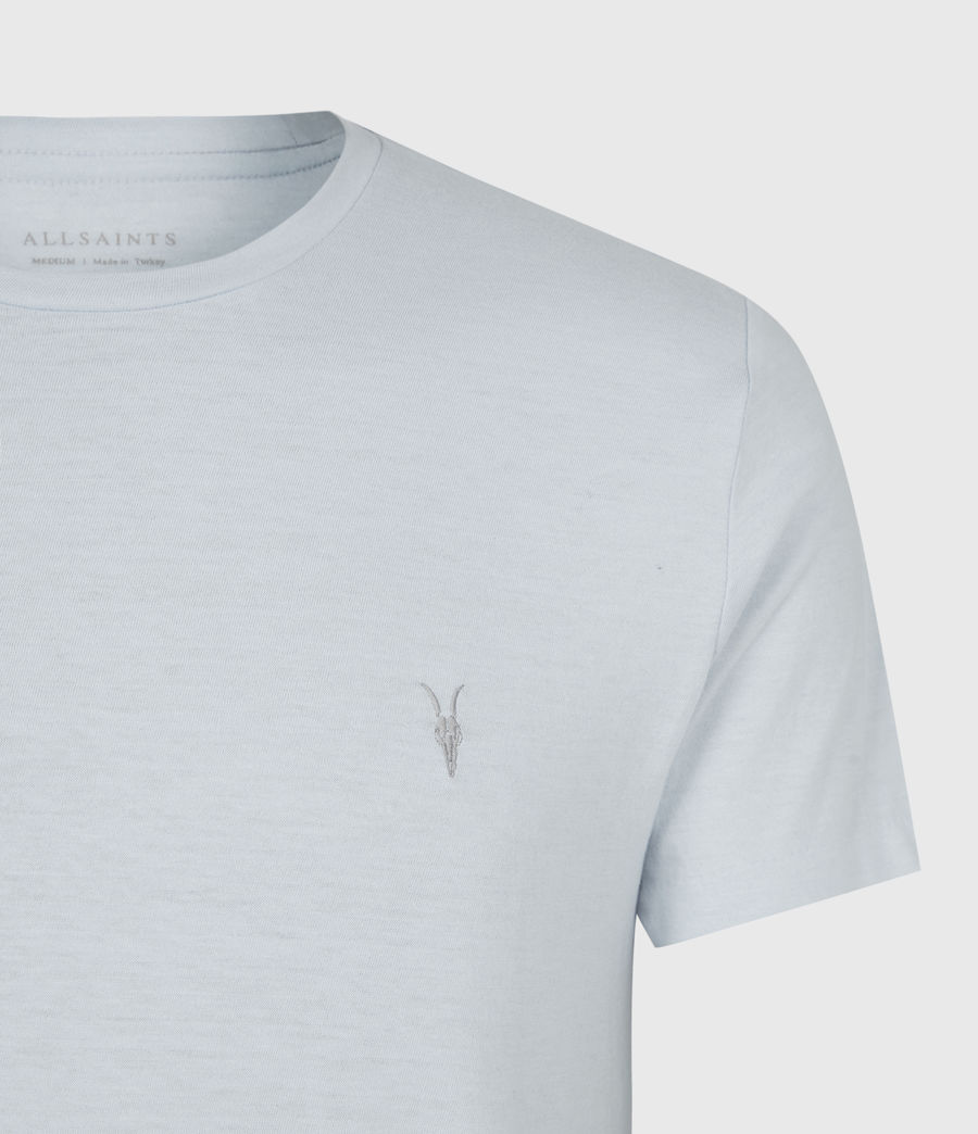 Mens Tonic Crew T-Shirt (pacific_blue_marl) - Image 4