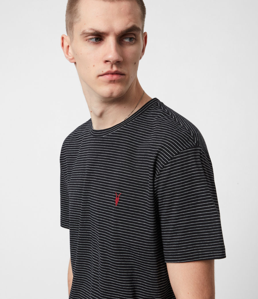 Men's Sinclair Crew T-Shirt (black) - Image 4