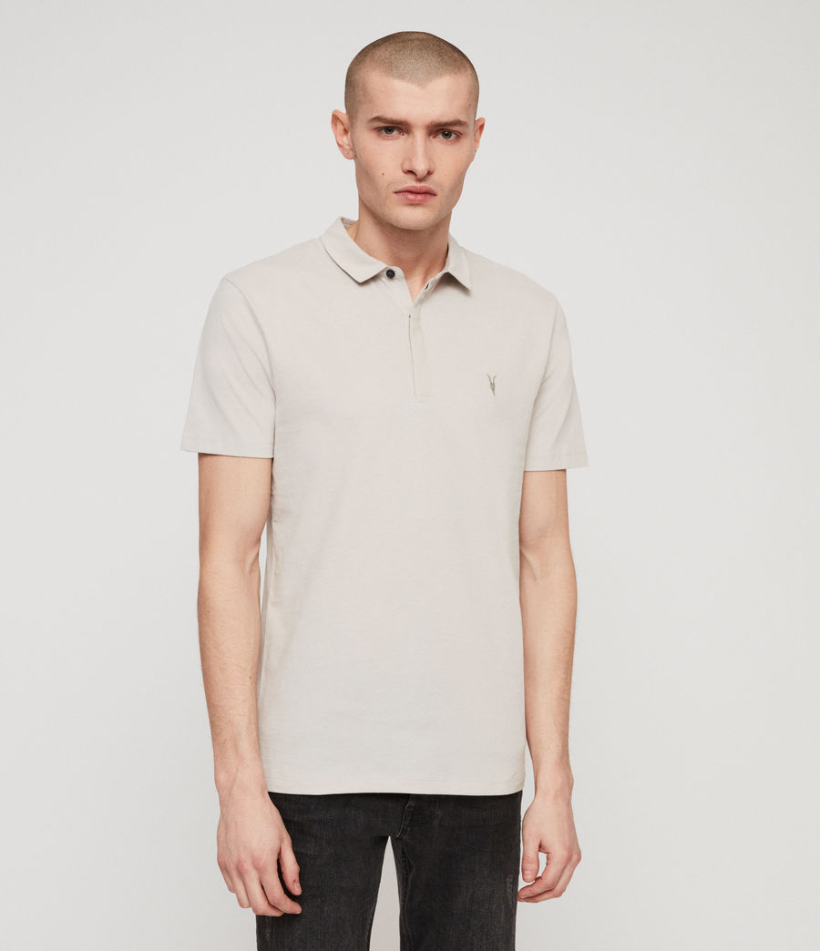 Men's Brace Polo Shirt (lunar_grey) - Image 4
