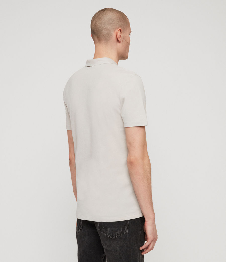 Men's Brace Polo Shirt (lunar_grey) - Image 5