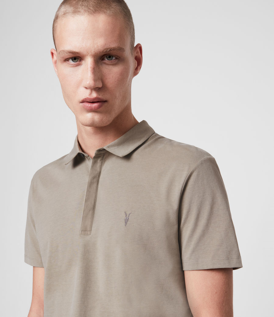 Hombre Brace Short Sleeve Polo Shirt (sage_green) - Image 2