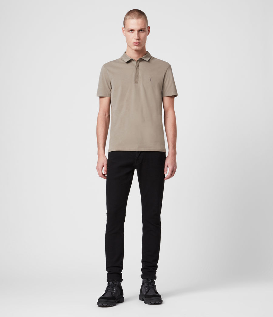 Hombre Brace Short Sleeve Polo Shirt (sage_green) - Image 3