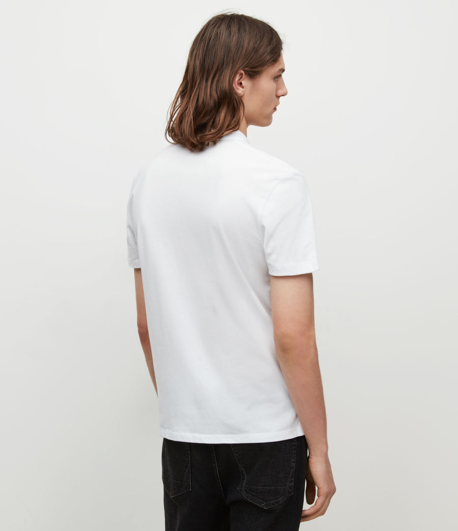 Men's Brace Polo Shirt (optic_white) - Image 4