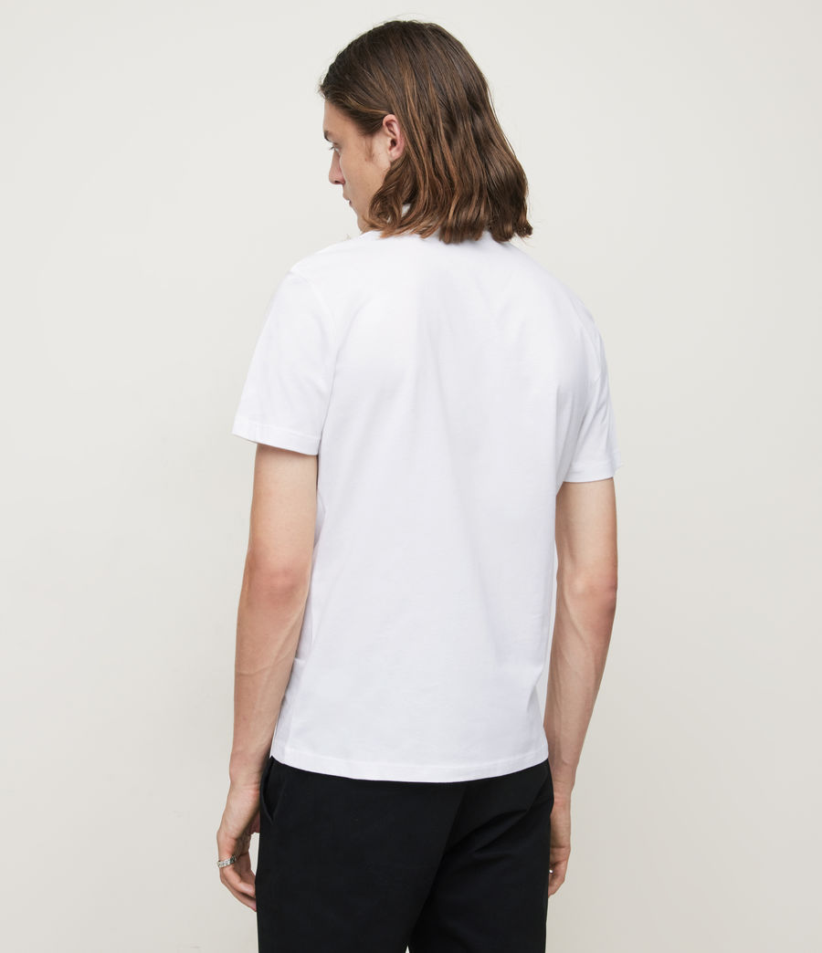 Mens Brace Polo Shirt (optic_white) - Image 4