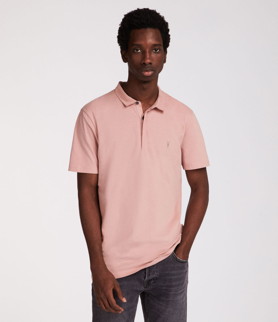 Hombres Polo Brace (crepe_pink) - Image 1