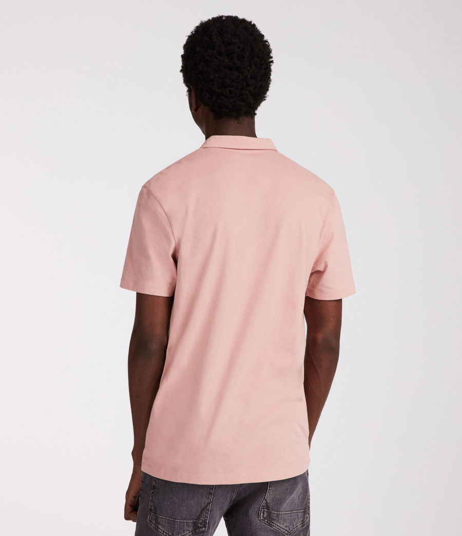Hombres Polo Brace (crepe_pink) - Image 2