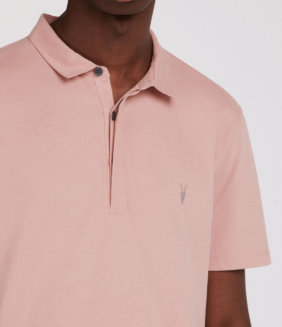 Hombres Polo Brace (crepe_pink) - Image 3