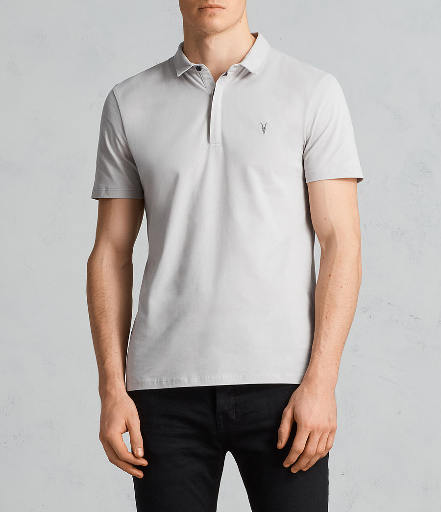 Mens Brace Ss Polo (sheer_grey) - Image 1
