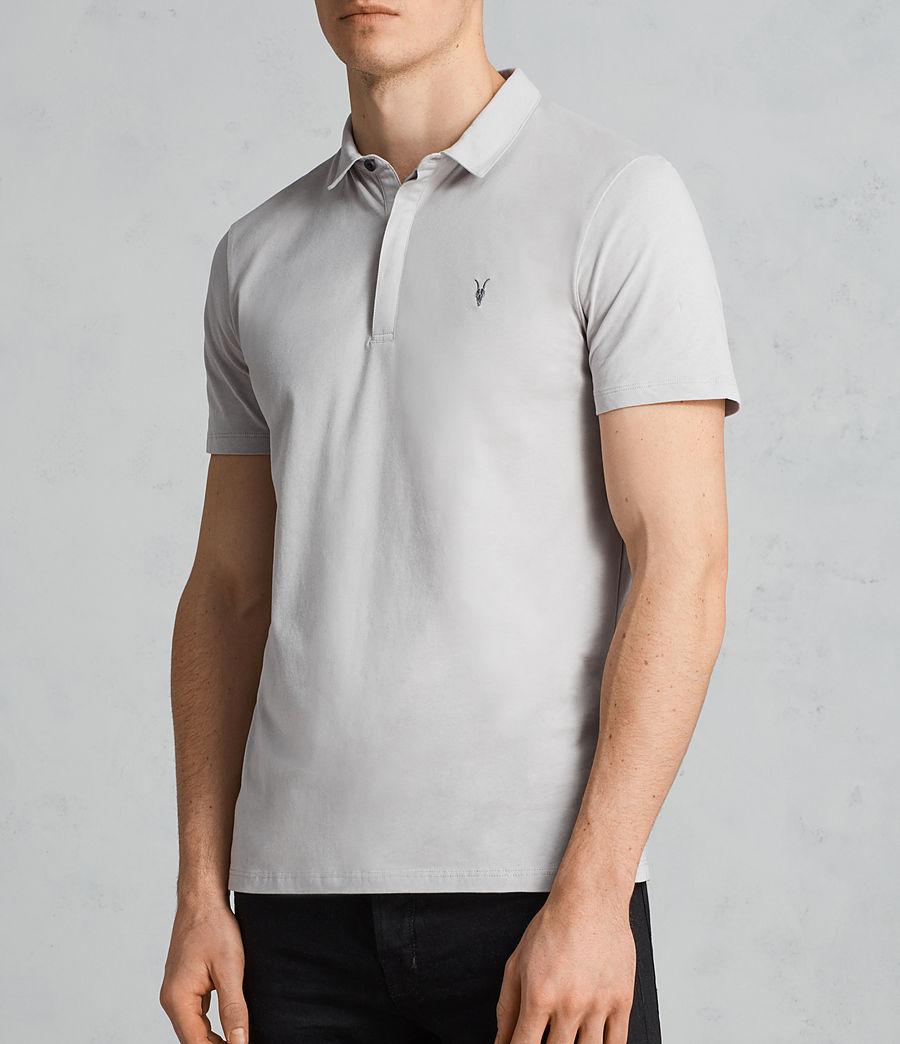Mens Brace Ss Polo (sheer_grey) - Image 3
