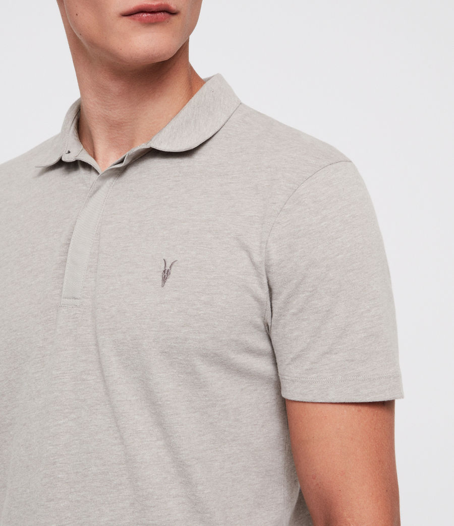 Mens Brace Polo Shirt (mine_grey_marl) - Image 2