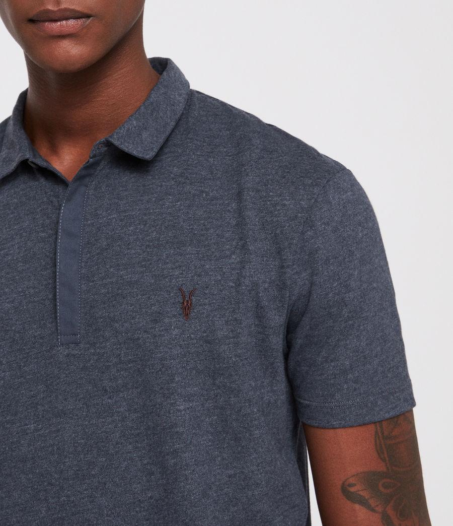 Mens Brace Polo Shirt (merchant_ink_marl) - Image 2