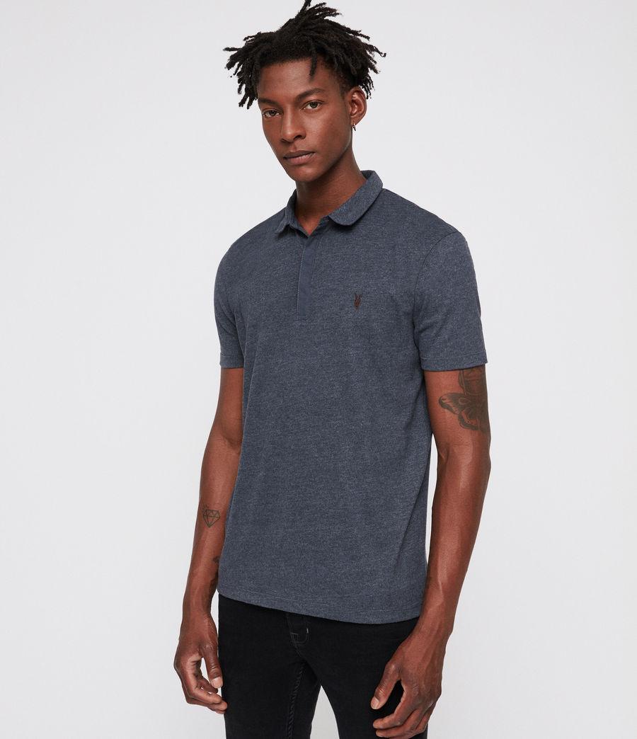 Mens Brace Polo Shirt (merchant_ink_marl) - Image 3