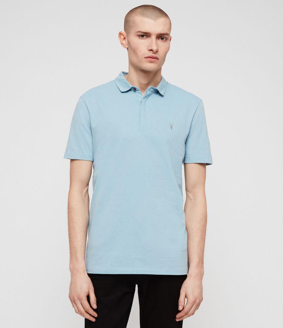 Mens Brace Short Sleeve Polo Shirt (optic_white) - Image 1
