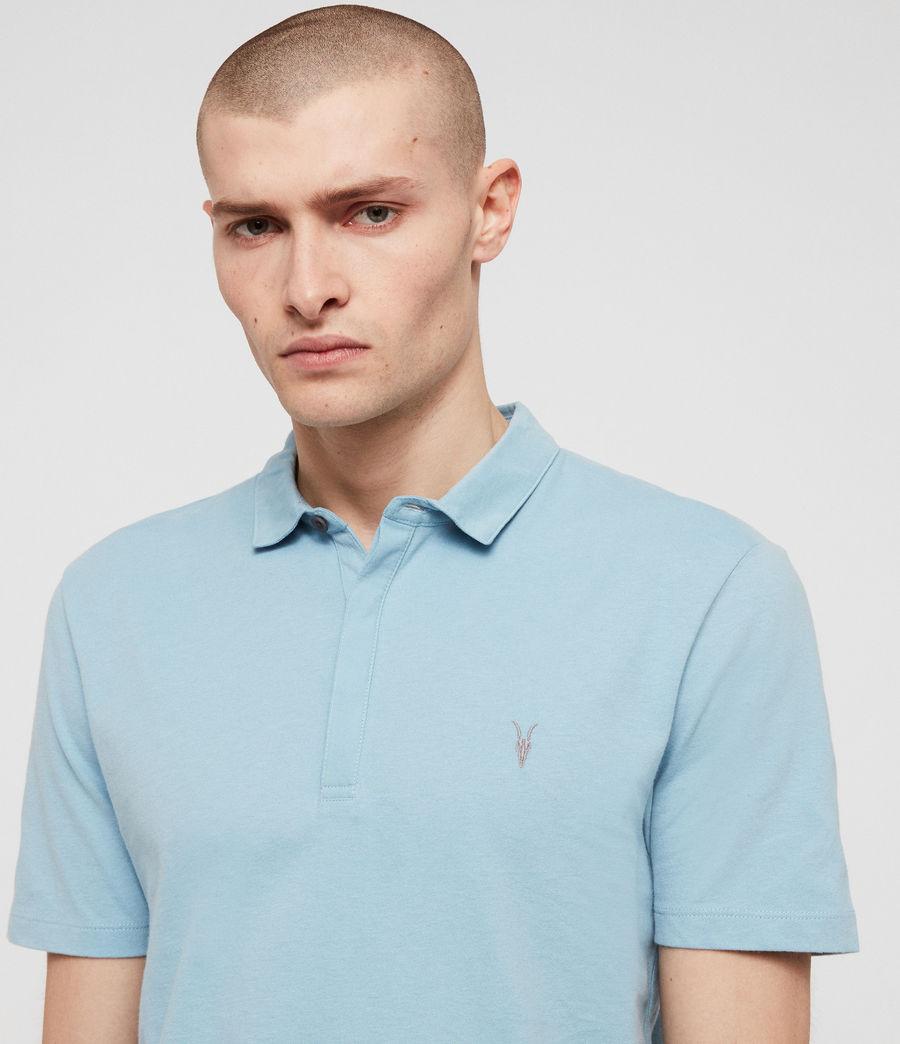 Mens Brace Short Sleeve Polo Shirt (optic_white) - Image 2