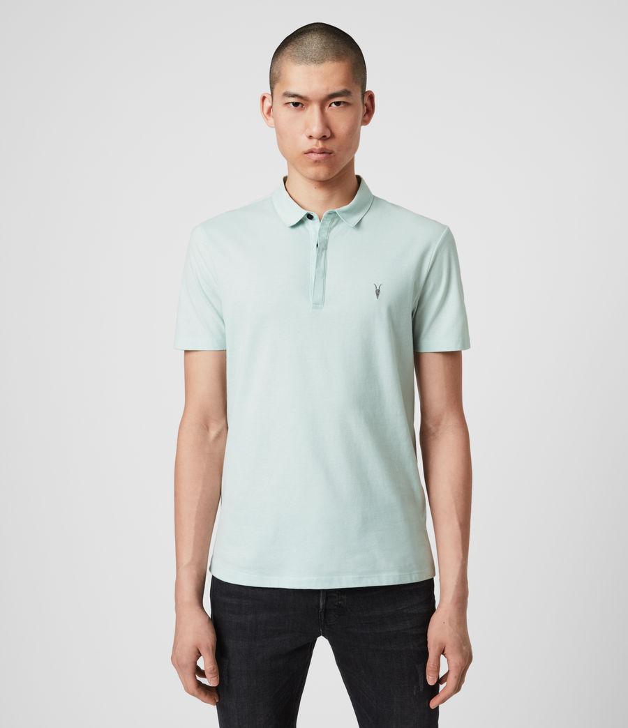 Men's Brace Polo Shirt (salt_blue) - Image 1