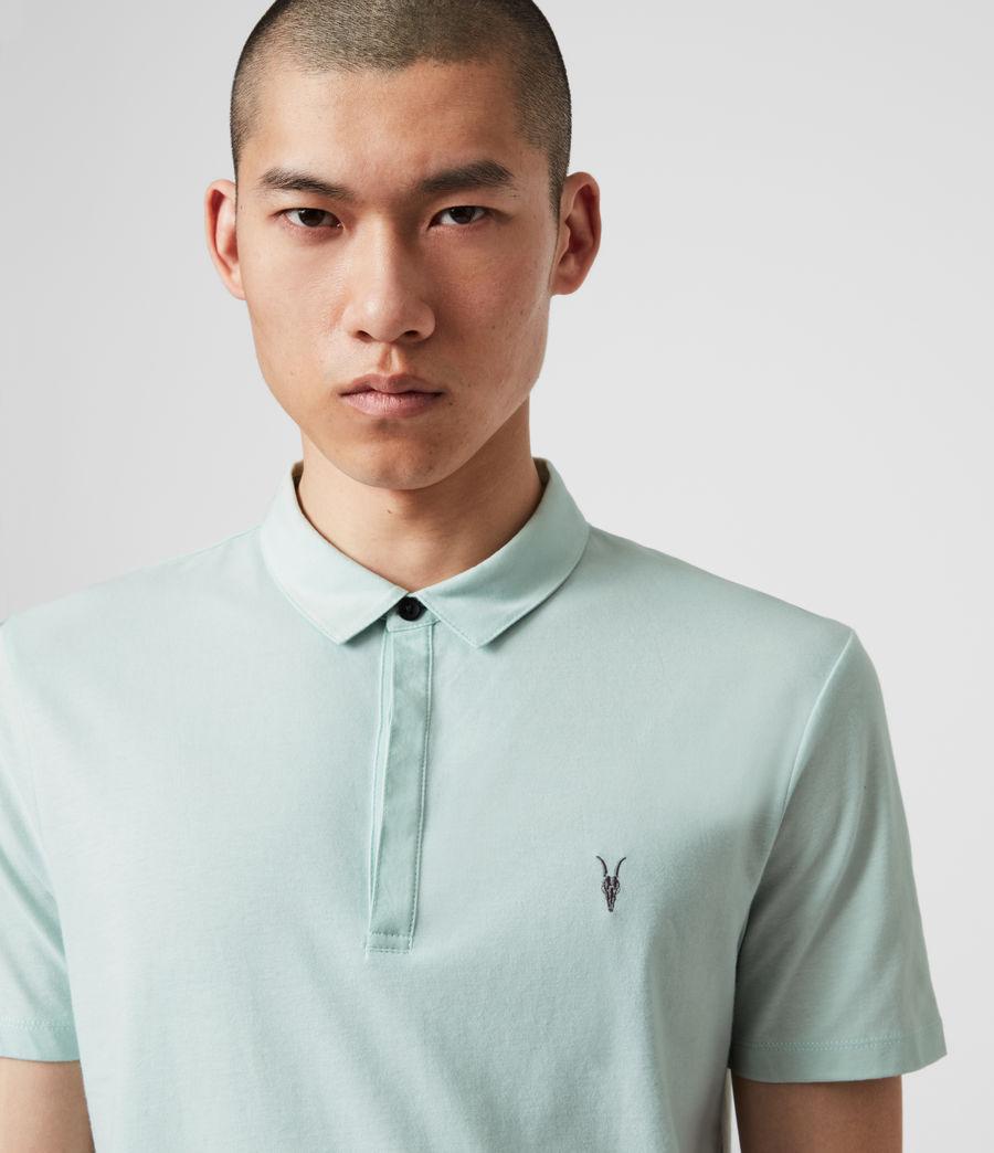 Mens Brace Short Sleeve Polo Shirt (menthe_green) - Image 2