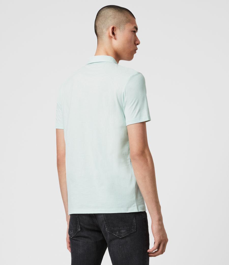 Men's Brace Polo Shirt (salt_blue) - Image 5