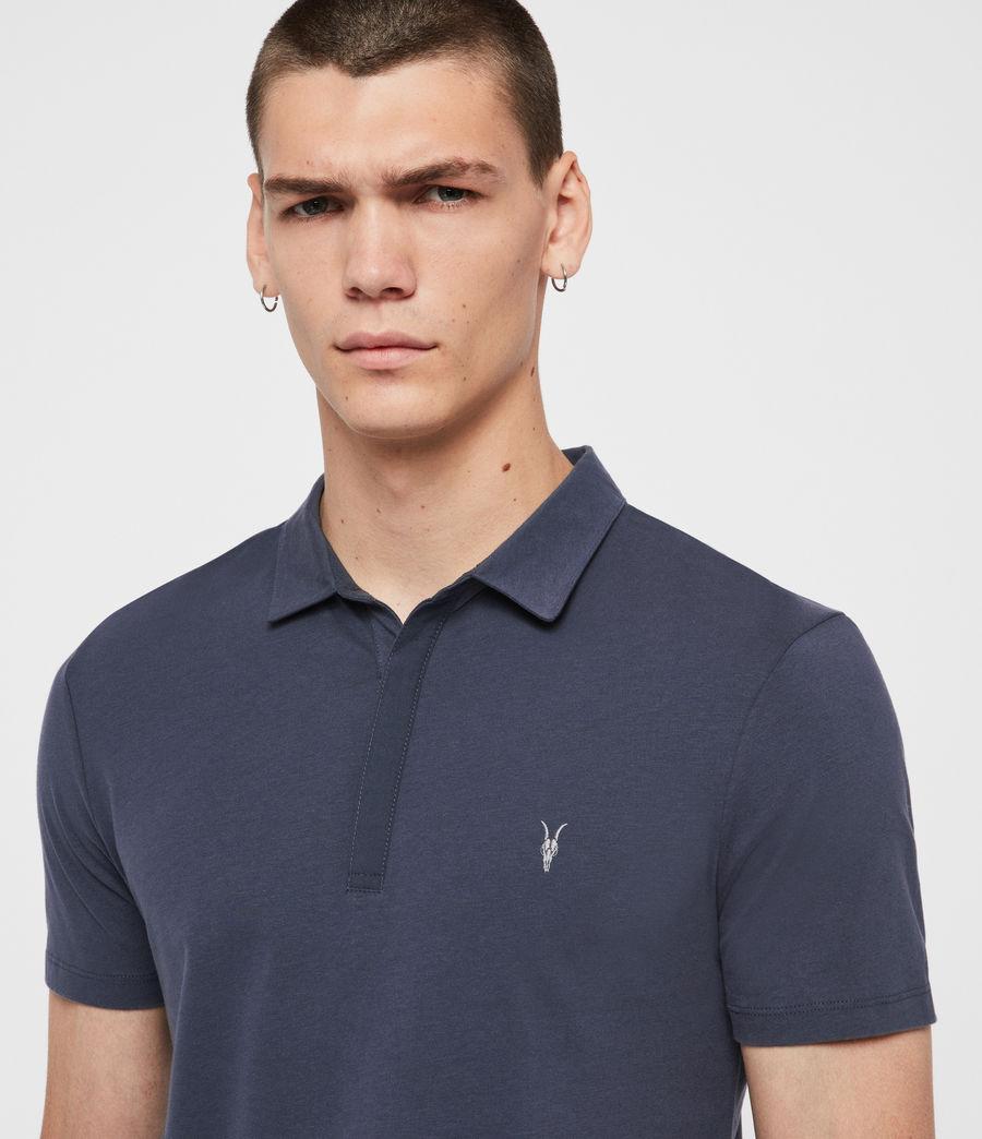 Mens Brace Polo Shirt (jet_black) - Image 2