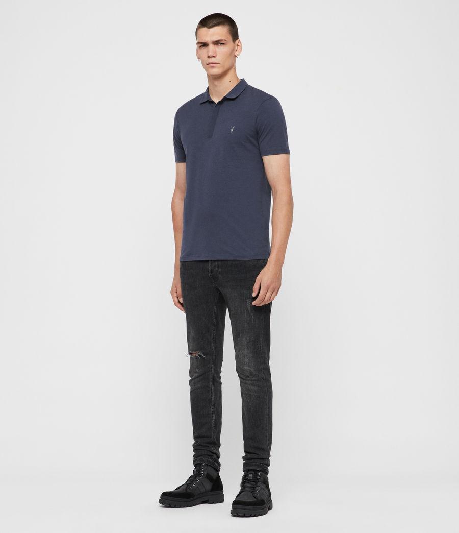 Mens Brace Polo Shirt (jet_black) - Image 3