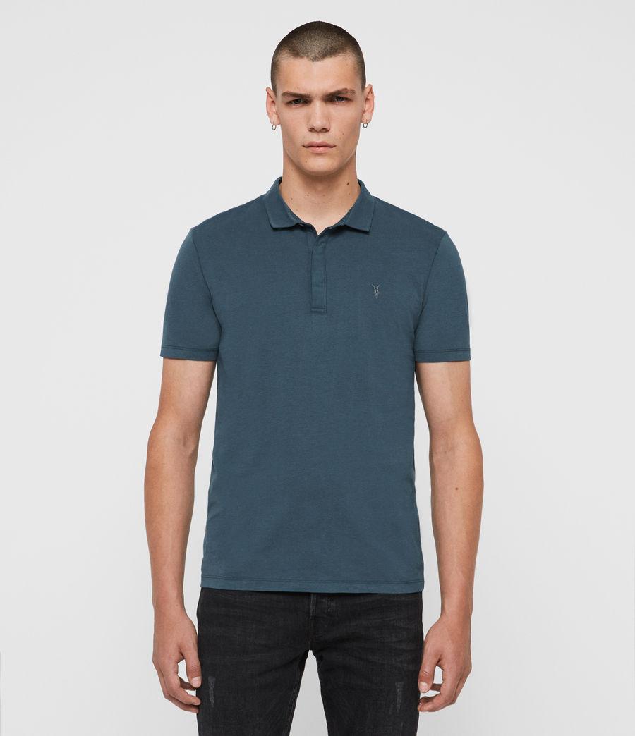 Hombres Polo Brace (salt_blue) - Image 1