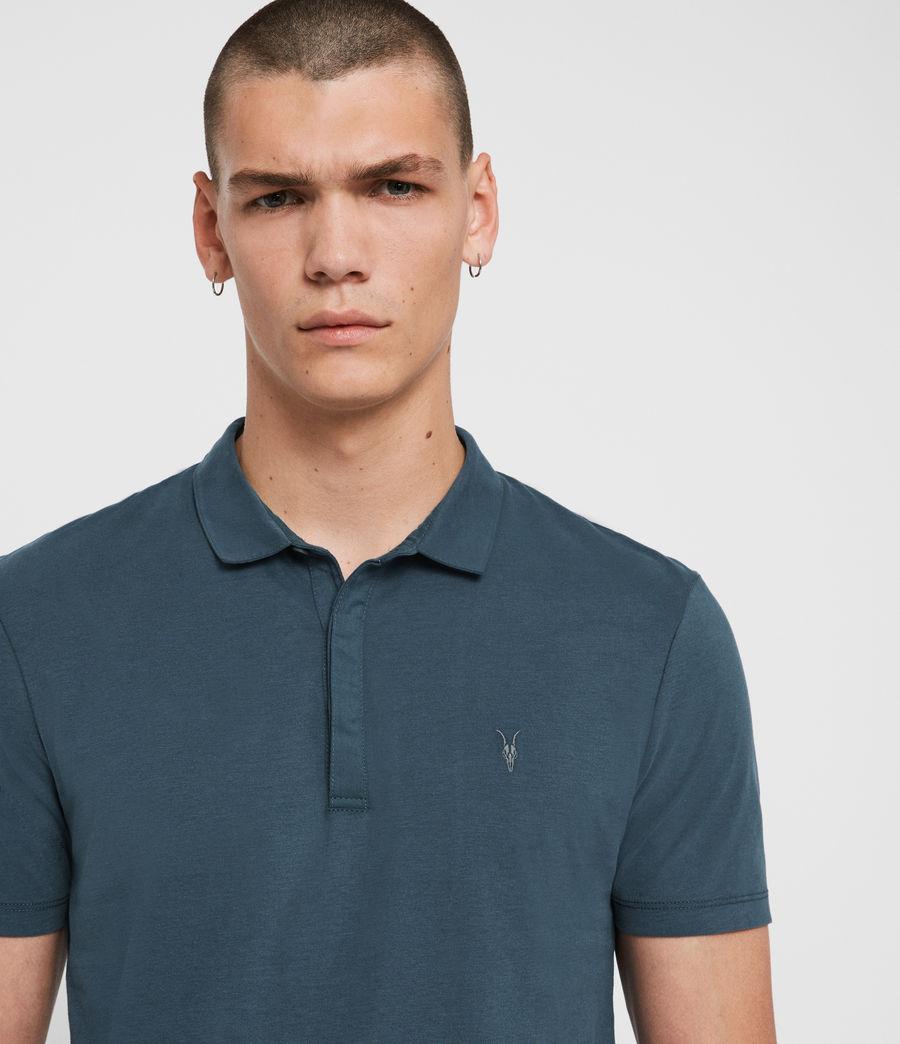 Hombres Polo Brace (salt_blue) - Image 2