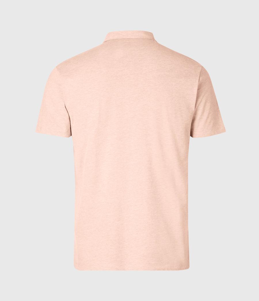 Mens Brace Short Sleeve Polo Shirt (cliff_grey) - Image 2