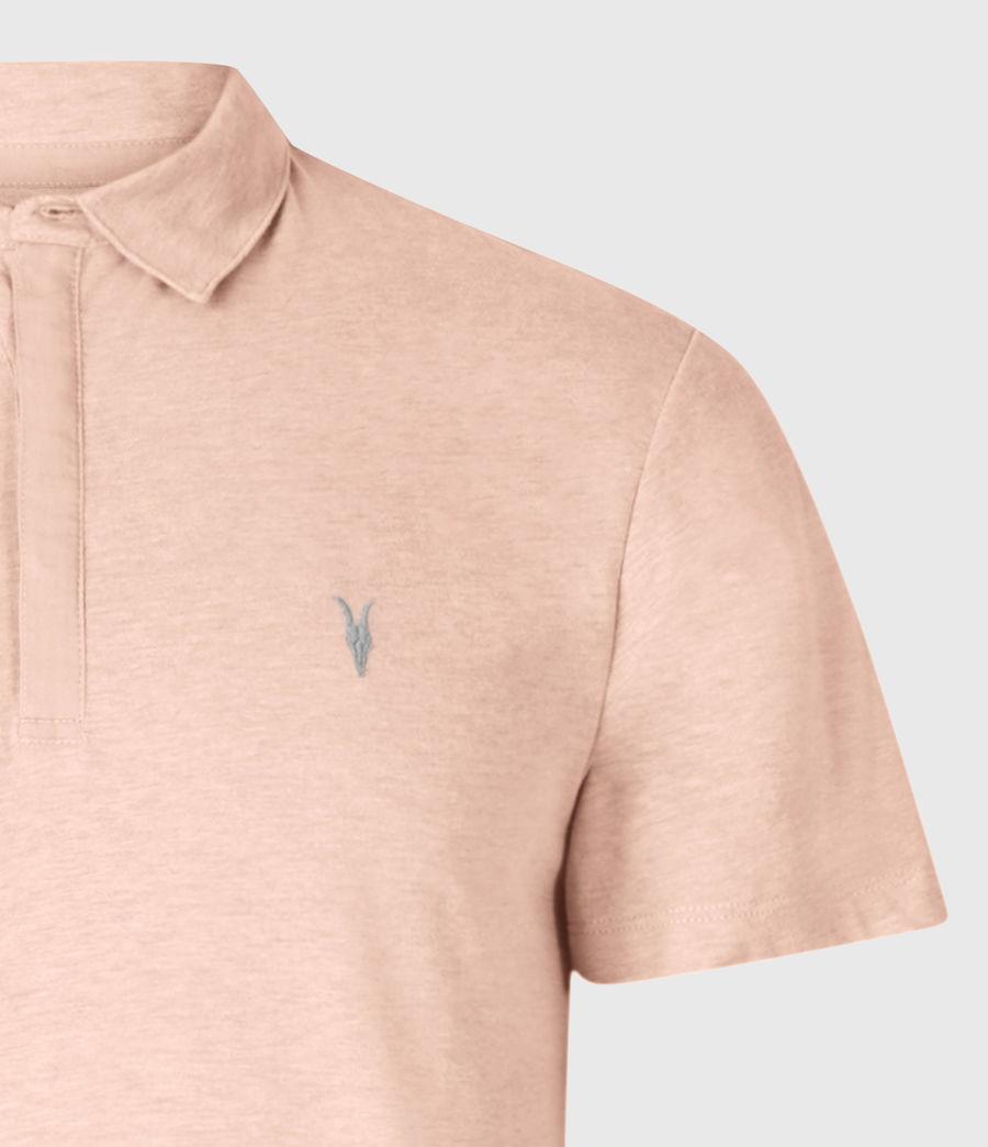 Mens Brace Short Sleeve Polo Shirt (cliff_grey) - Image 3