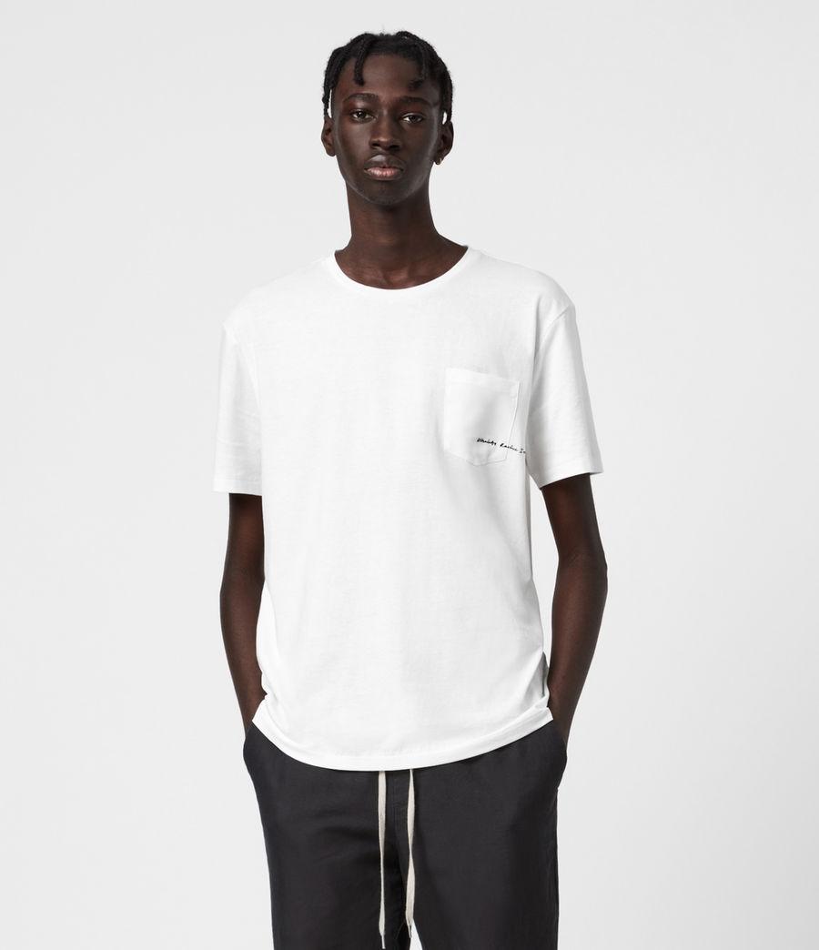 Men's Scripture Crew T-Shirt (chalk_white) - Image 1
