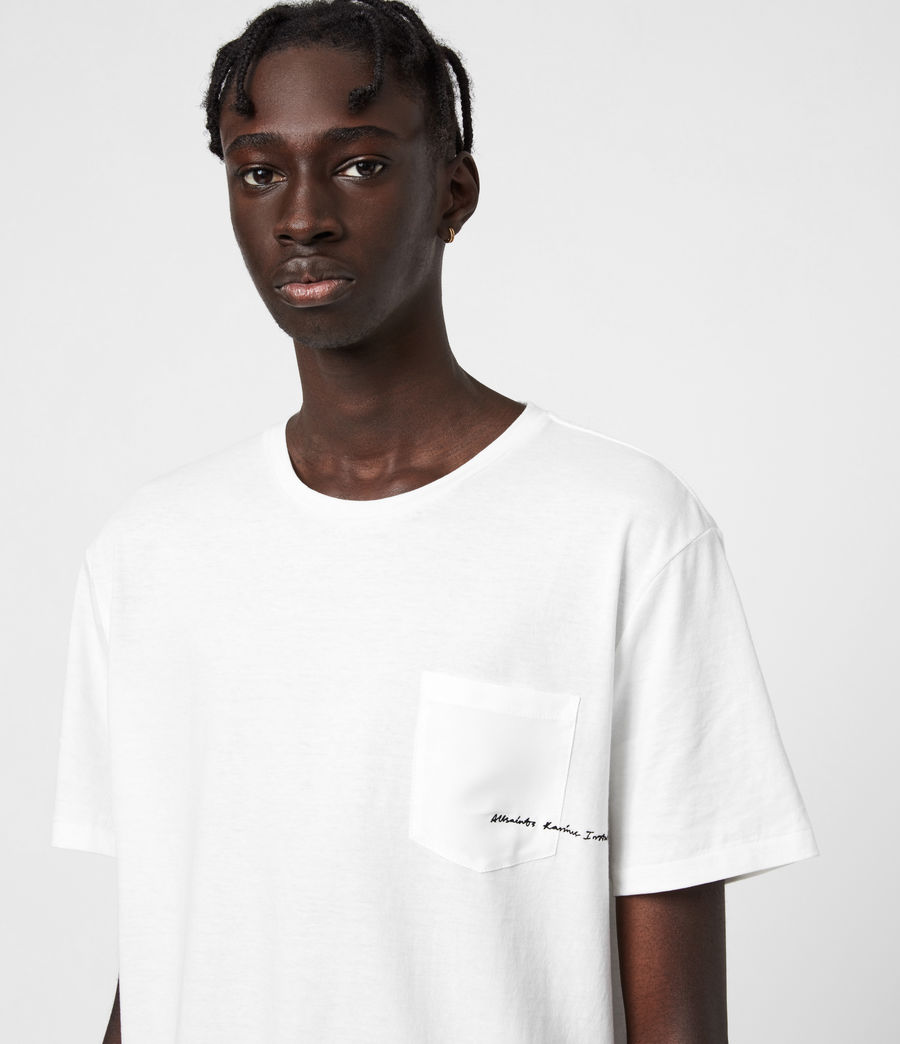 Men's Scripture Crew T-Shirt (chalk_white) - Image 4