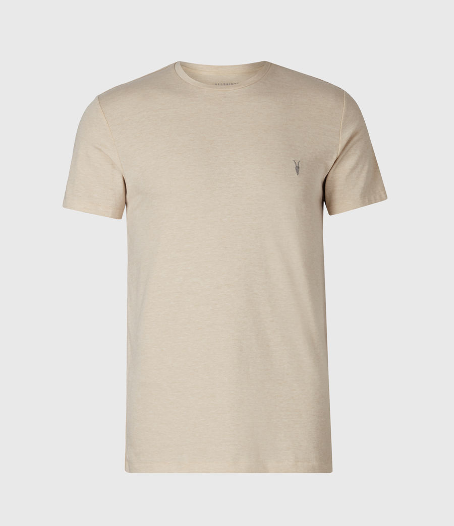 Mens Tonic Crew T-Shirt (pewter_grey_marl) - Image 2