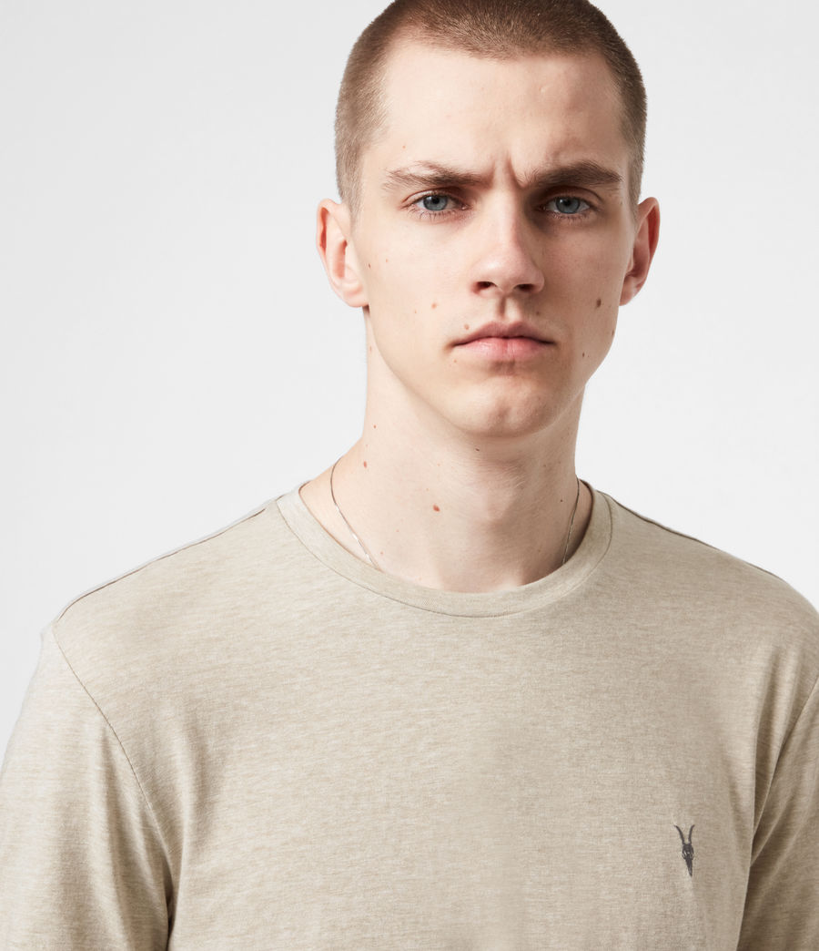 Mens Tonic Crew T-Shirt (pewter_grey_marl) - Image 4