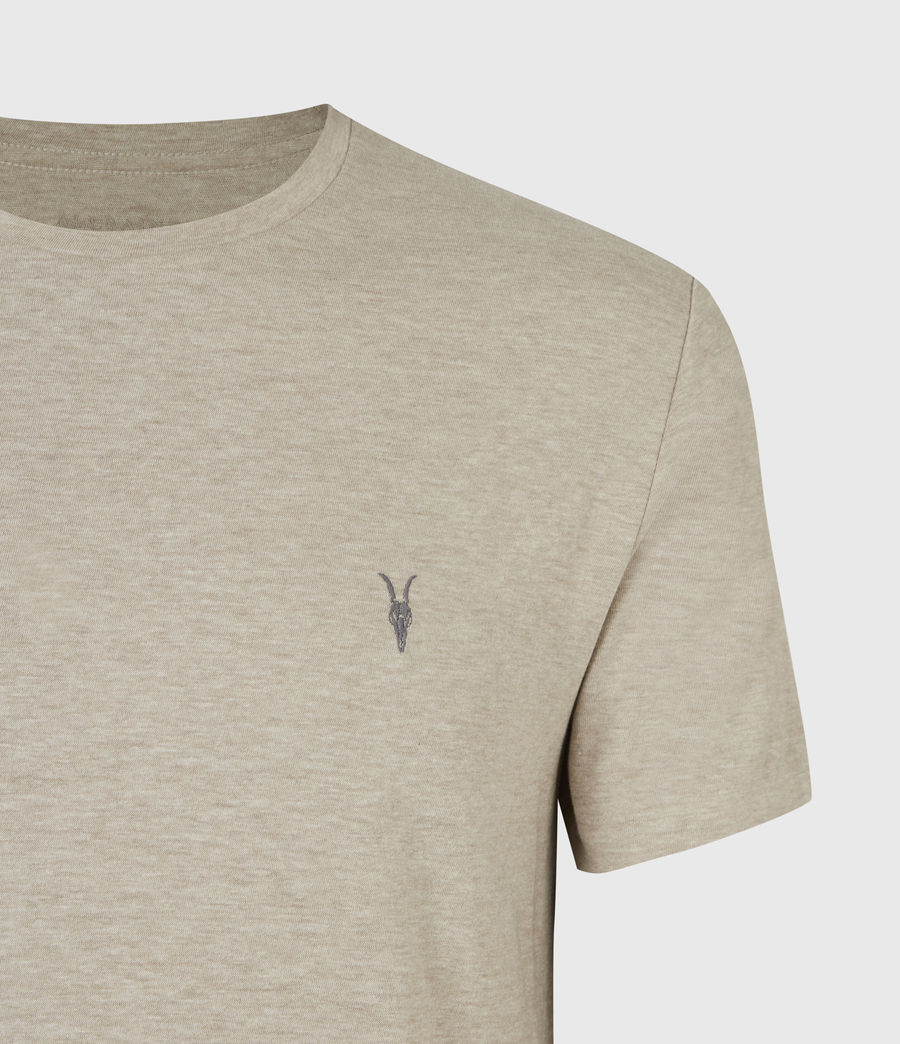 Mens Tonic Crew T-Shirt (pewter_grey_marl) - Image 5