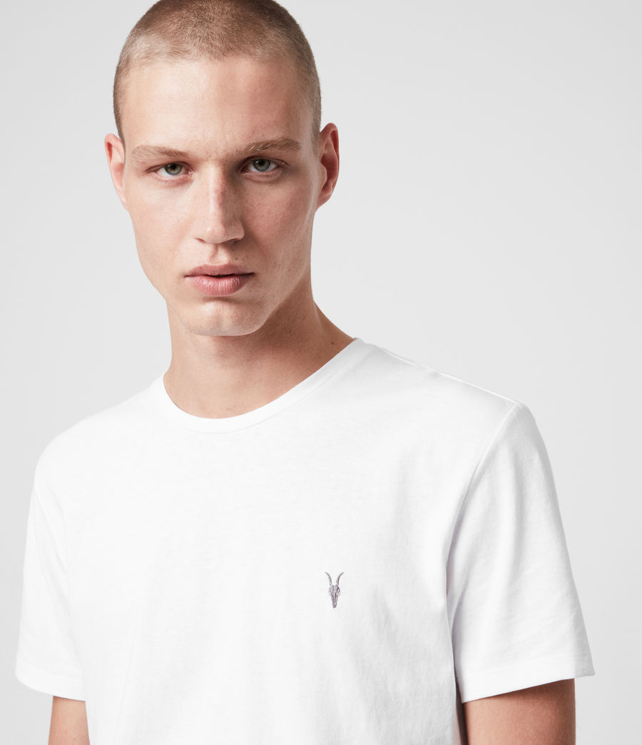 Men's Laiden Tonic Crew T-Shirt (optic_white) - Image 2