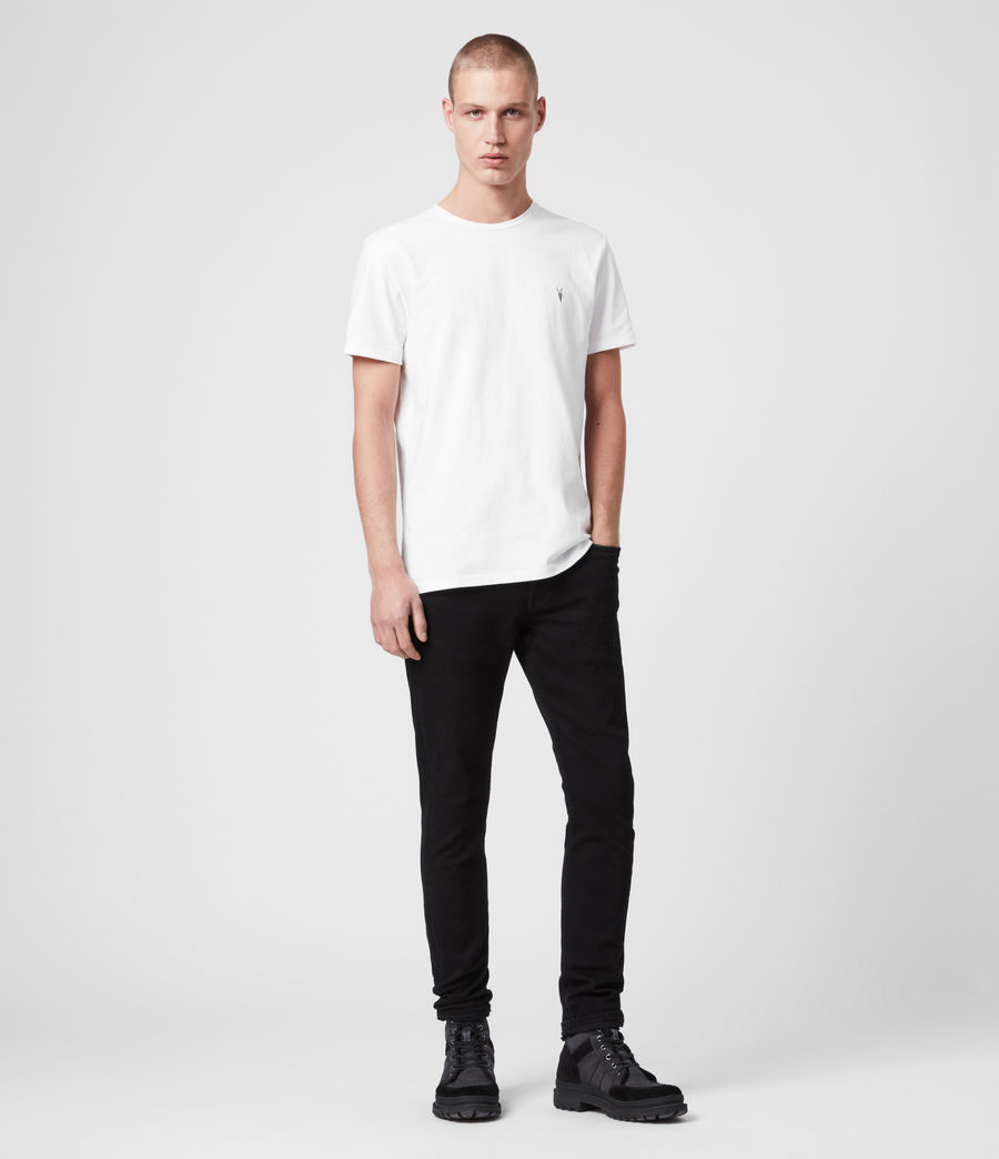 Men's Laiden Tonic Crew T-Shirt (optic_white) - Image 3