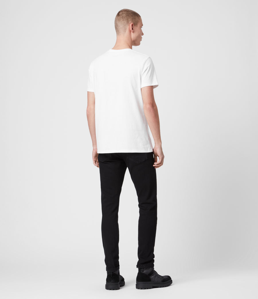 Herren Laiden Tonic T-Shirt (optic_white) - Image 4