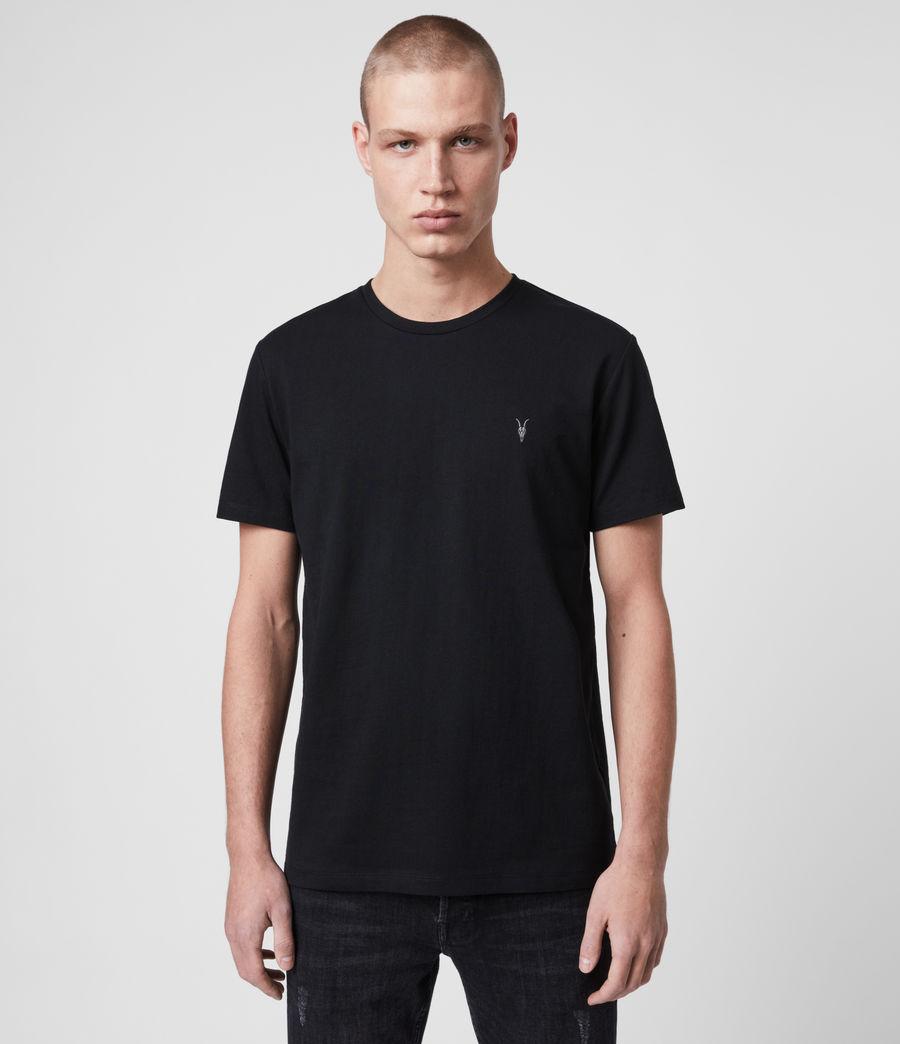 Hombre Camiseta Laiden (jet_black) - Image 1