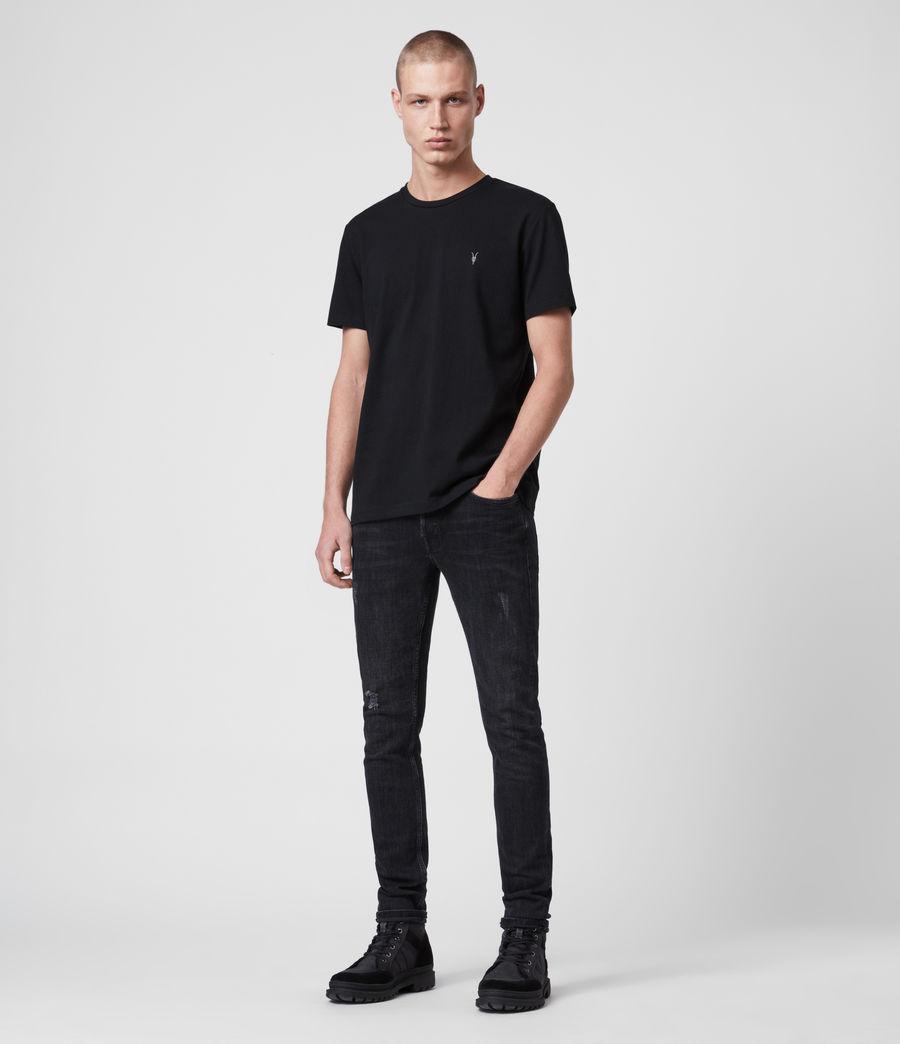 Hombre Camiseta Laiden (jet_black) - Image 3