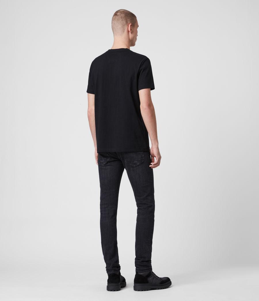 Hombres Camiseta Laiden (jet_black) - Image 4