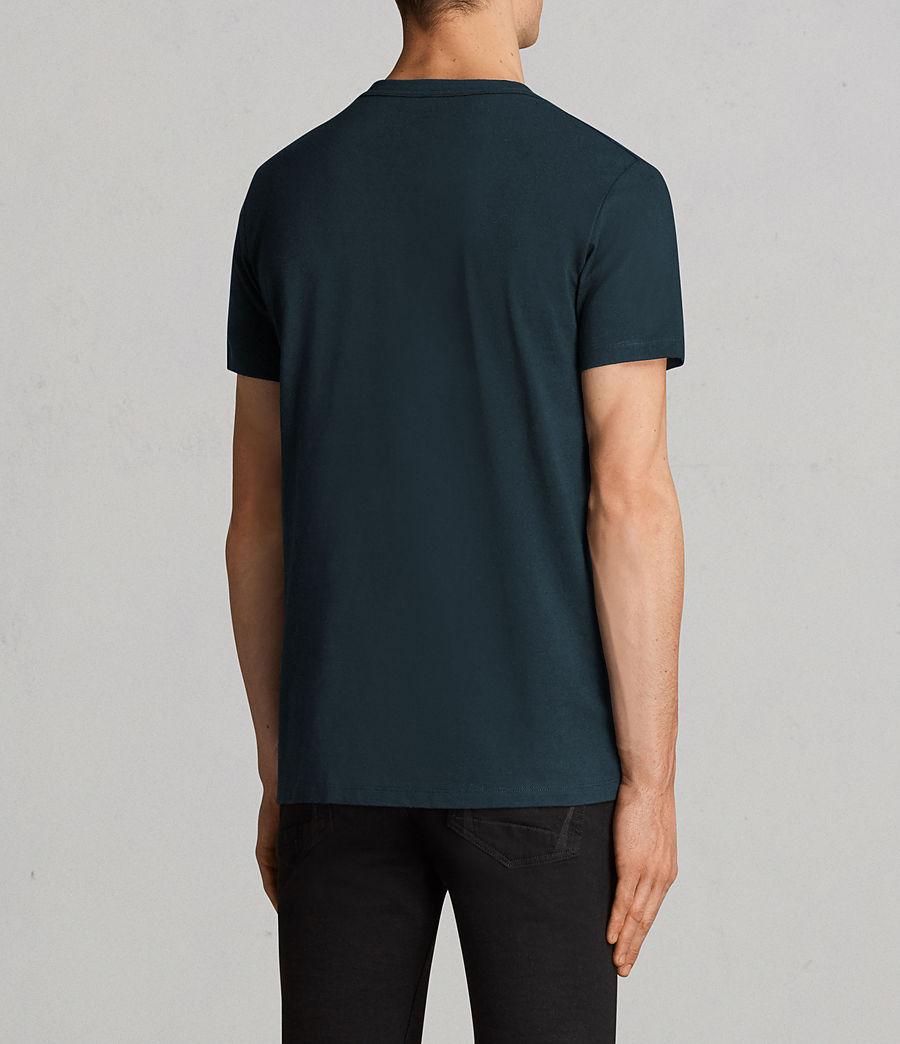 Uomo T-shirt Laiden Tonic (oil_blue) - Image 4