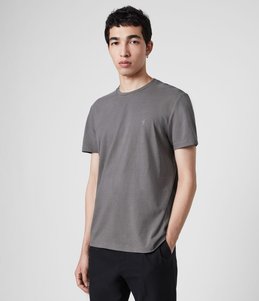 Mens Laiden Tonic Crew T-Shirt (core_grey) - Image 3