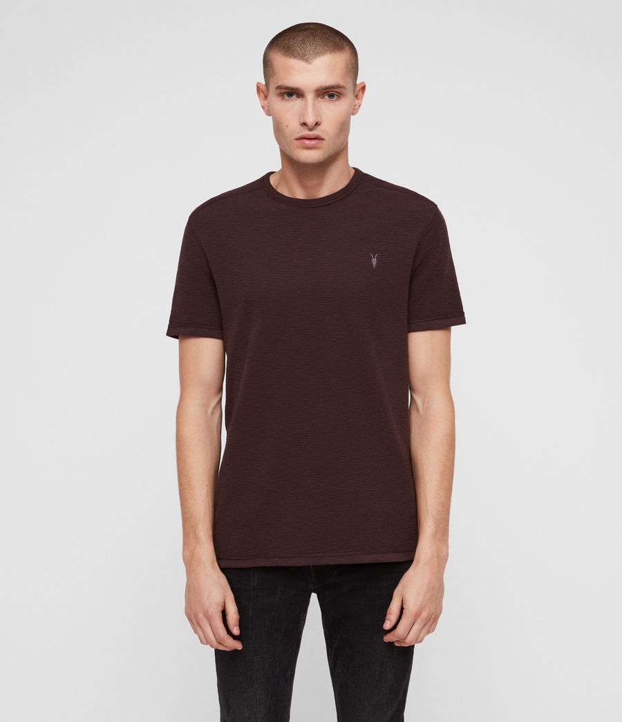 Hommes T-Shirt Tonic Laiden (deep_red) - Image 1
